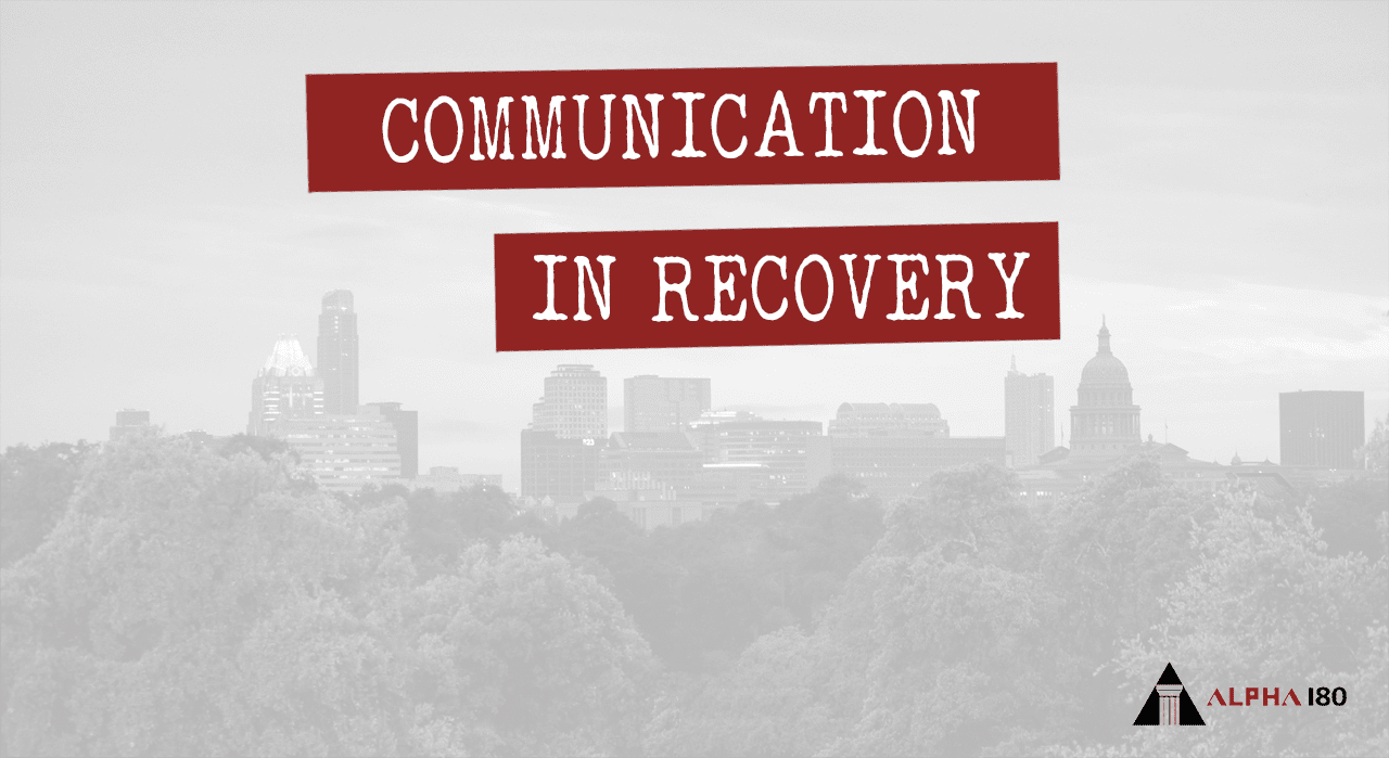 Communication in Recovery