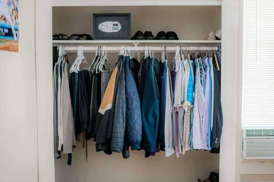 Sober Clubhouse closet
