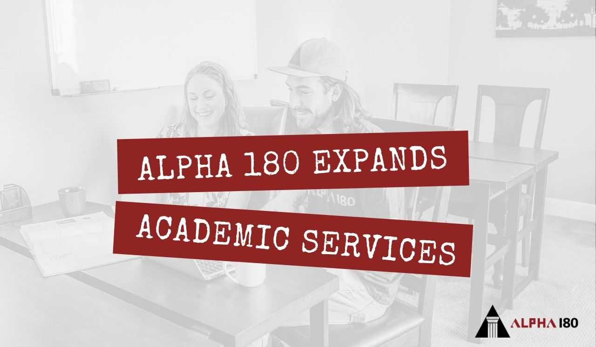 Alpha 180 Expands Academic Services