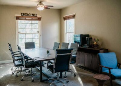 Conference Room at the Sober Clubhouse