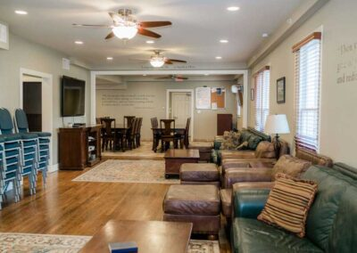 Sober Clubhouse Living Room 3